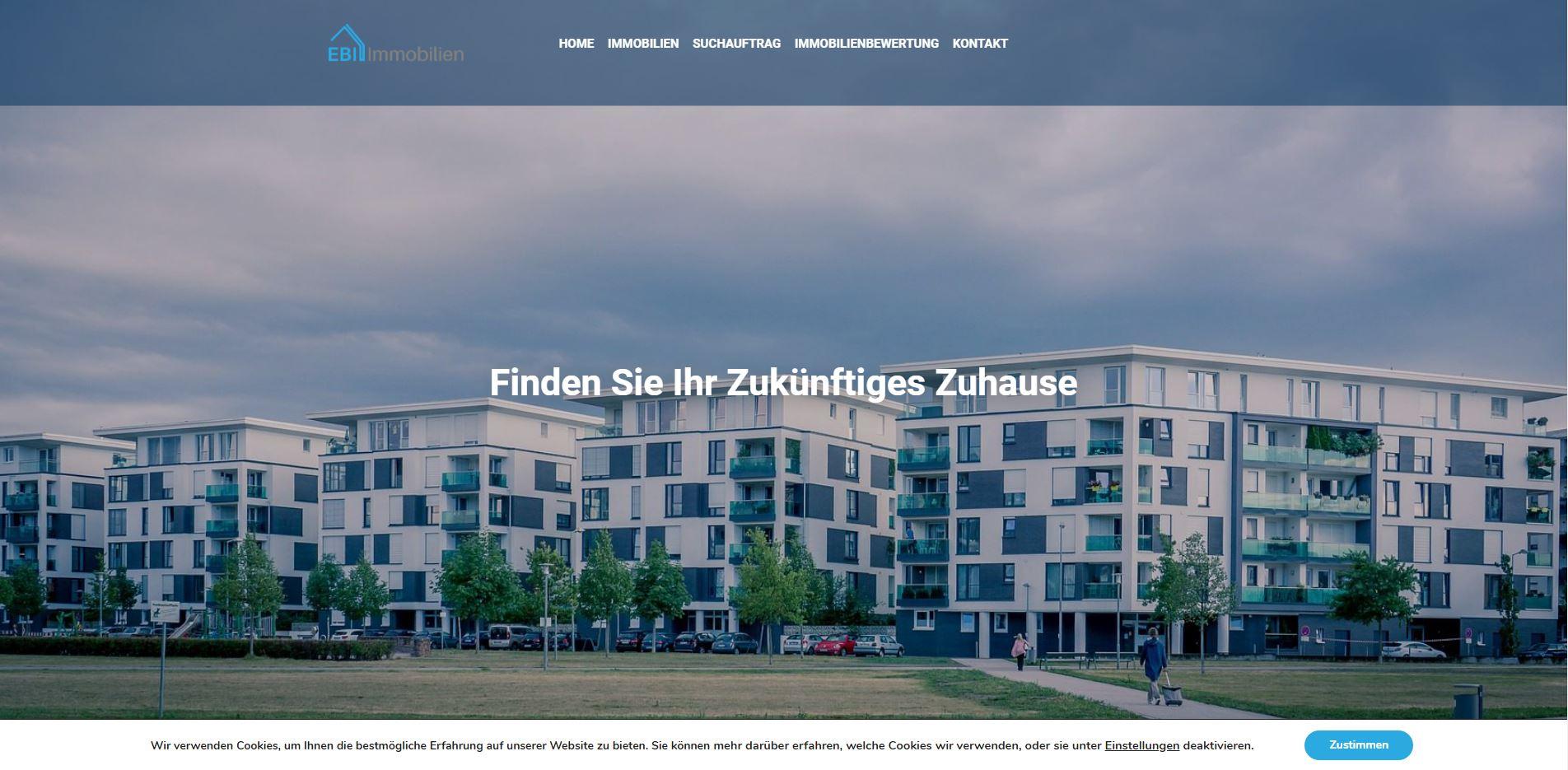 Webdesign Ebi Immobilien